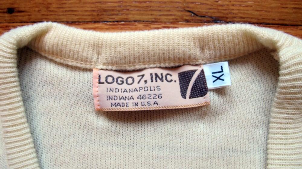 Image of Vintage LOGO 7 San Francisco 49ers Sweater sz XL