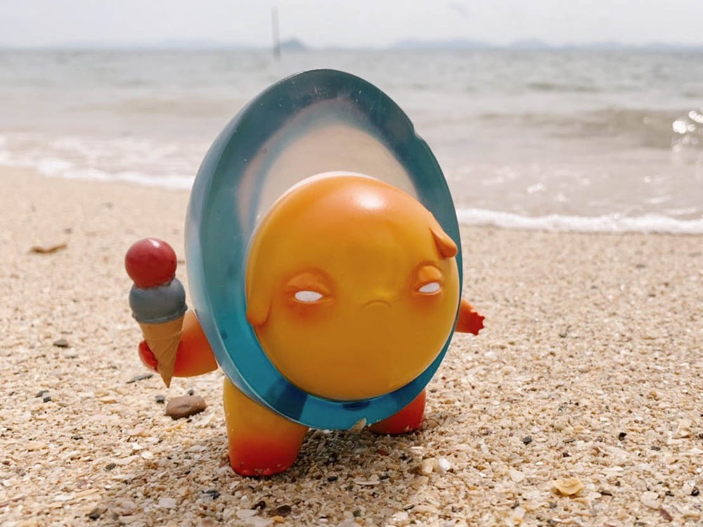 Image of Mr. Yolk【 Blue Hawai Melting 】
