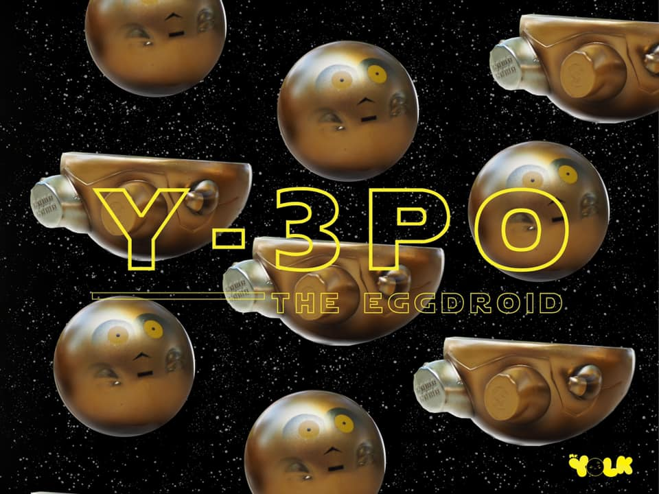 Image of Mr. Yolk【 Y-3PO 】
