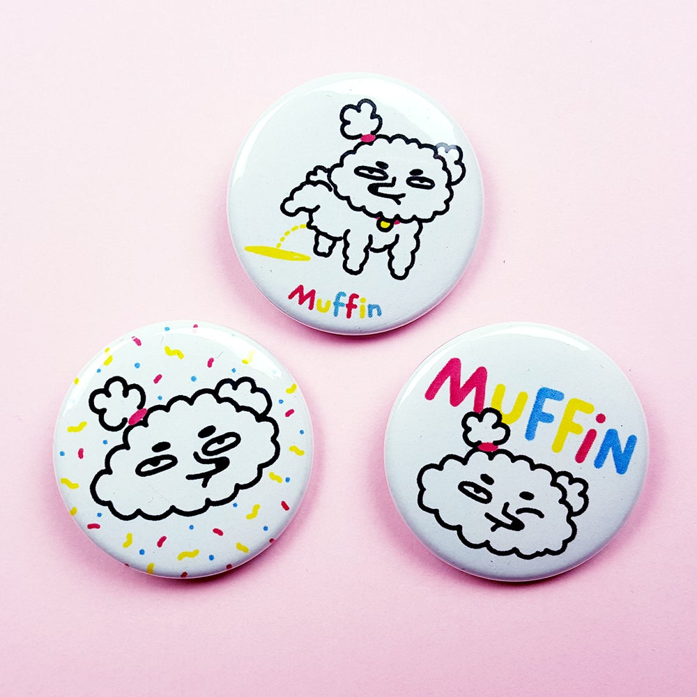 Image of Badges Muffin