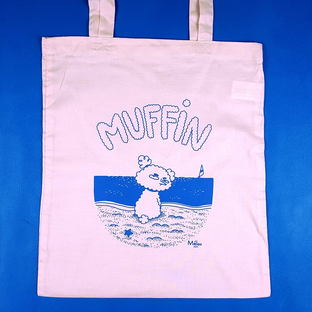 Image of Tote bag Muffin rose