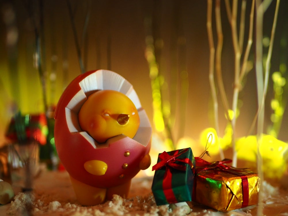 Image of Tiny Yolk【 Red Santa 】