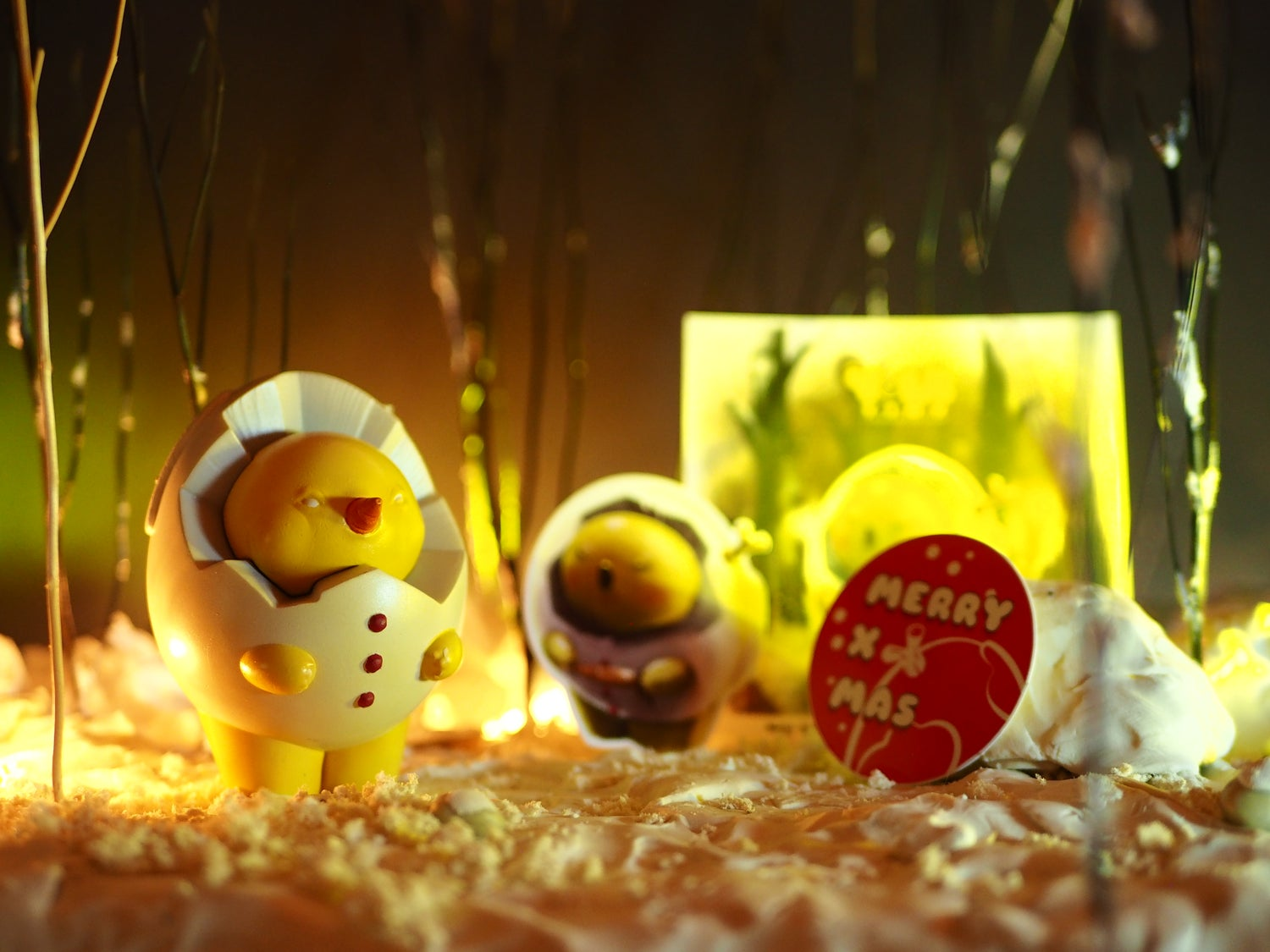 Image of Tiny Yolk【 White Snowman 】