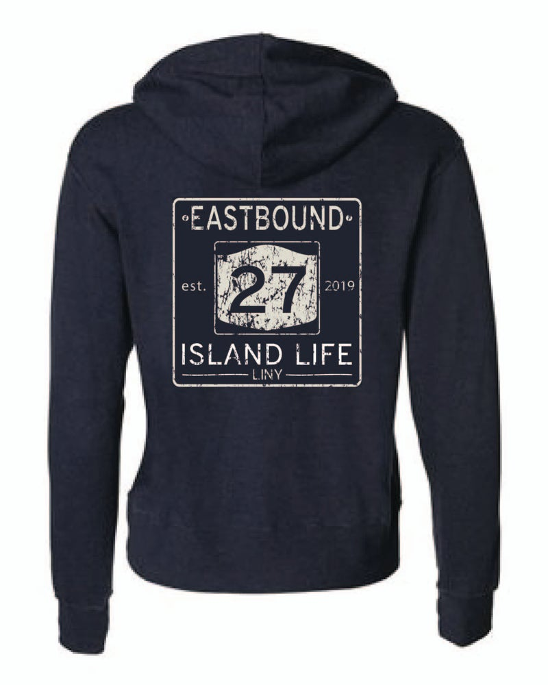 Image of EASTBOUND Unisex Hooded Zip-up Sweatshirt