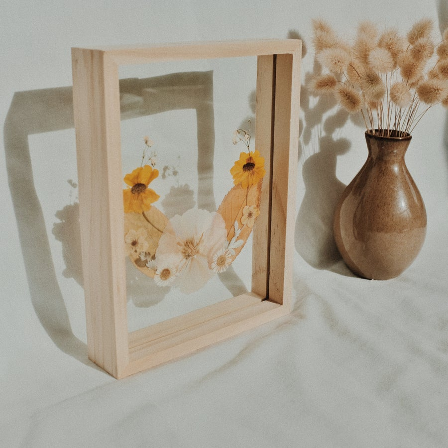 Image of Vintage Inspired Floral Frame (Small)