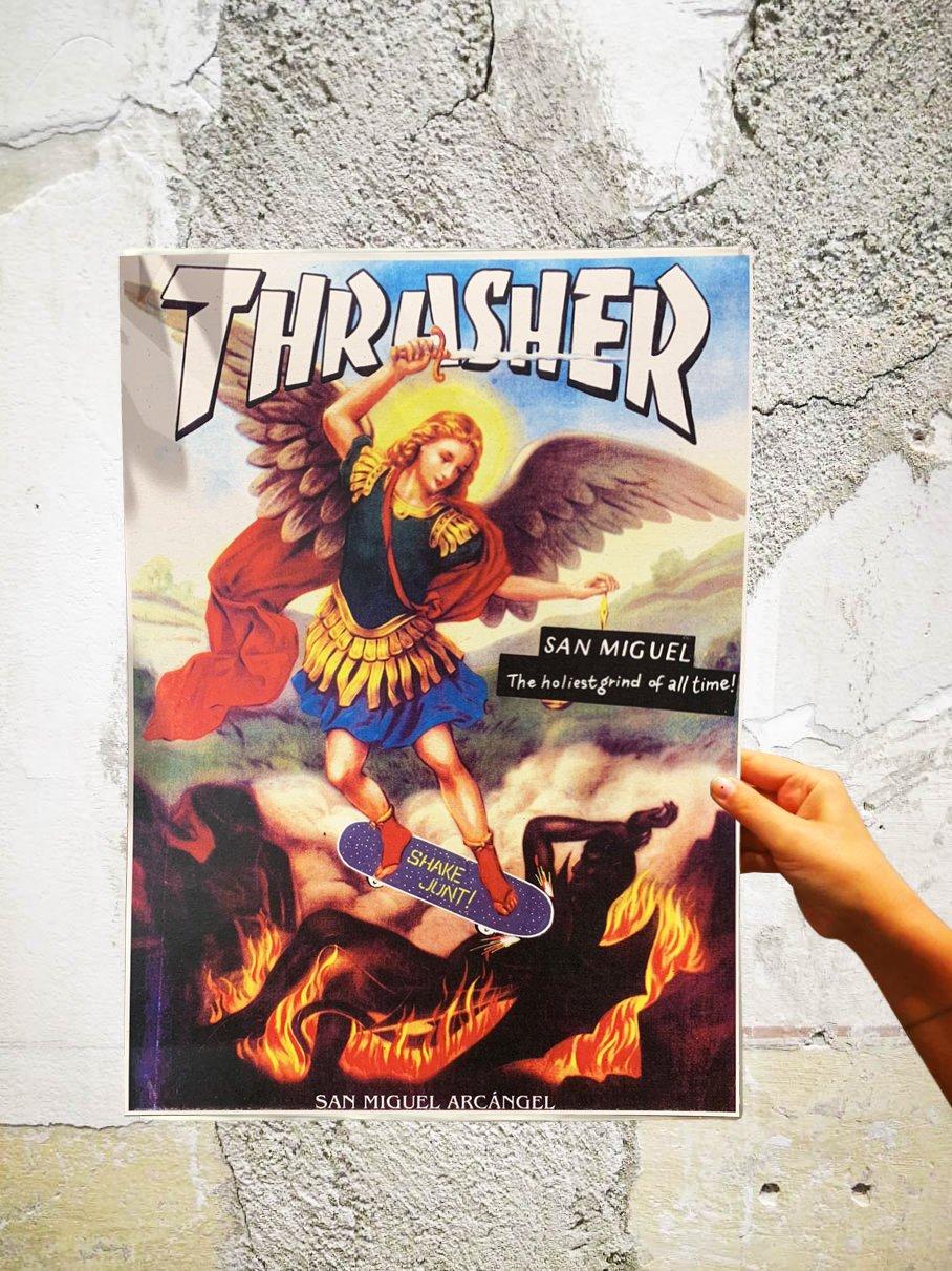 "Image of RIFFBLAST PRINT ""THRASHER"""