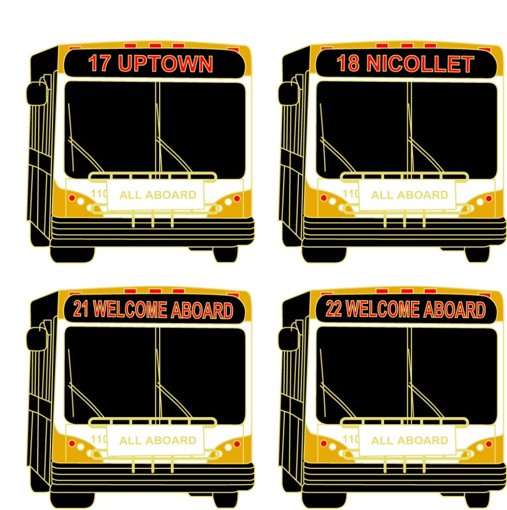 Image of TWIN CITIES TRANSIT PINS