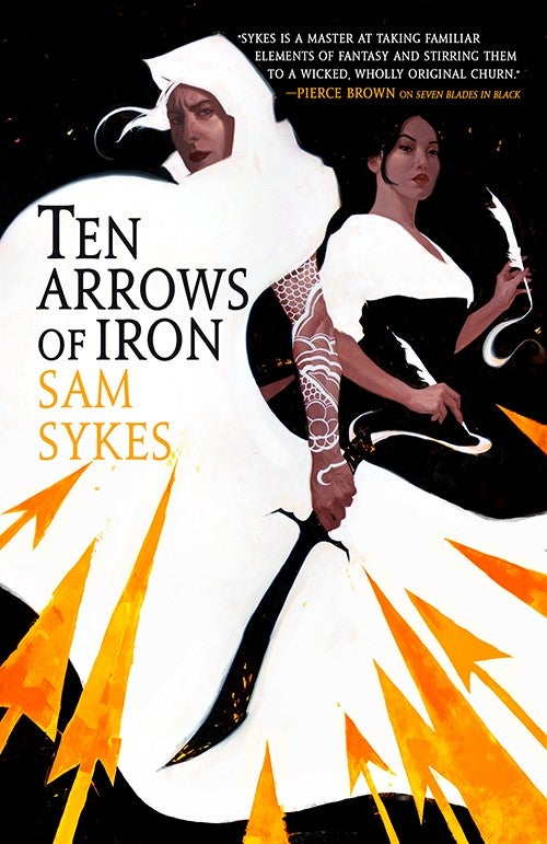 Image of Ten Arrows Of Iron Cover (Sal and Liette)