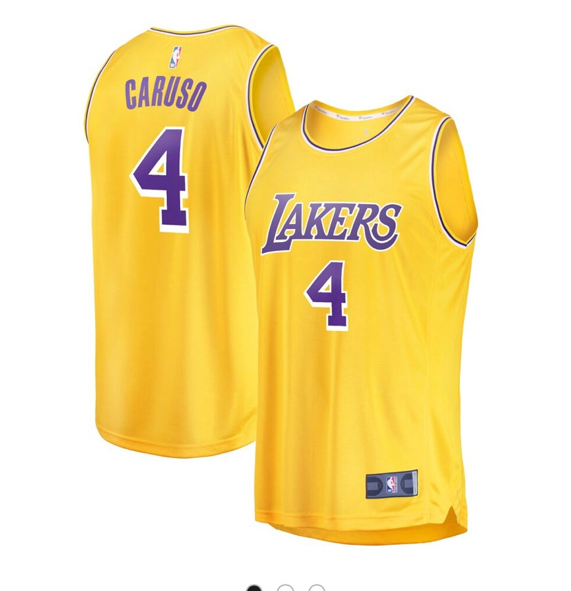 Image of Caruso Lakers Jersey