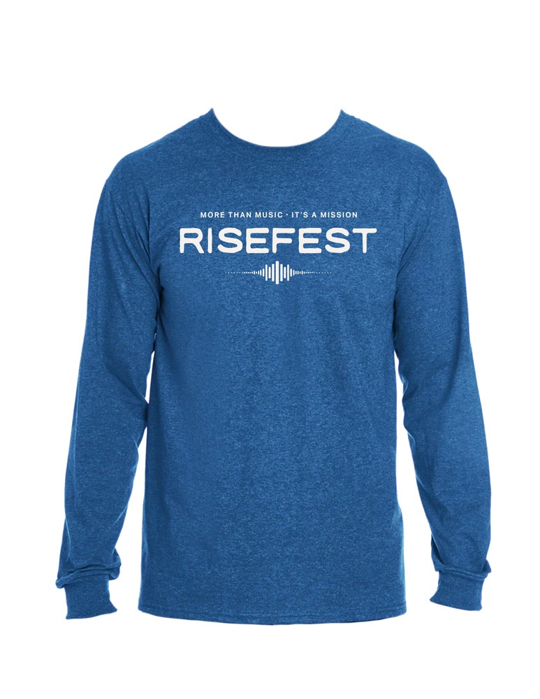 Image of Long Sleeve RiseFest Shirt