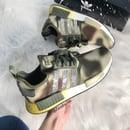 Image of Swarovski Adidas NMD Star Wars Casual Shoes customized with Swarovski Crystals.