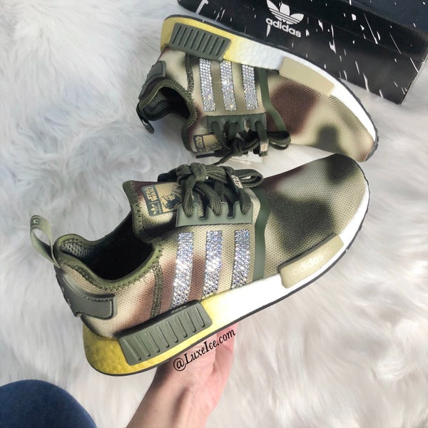 Image of Swarovski Adidas NMD Star Wars Casual Shoes customized with Swarovski Crystals.