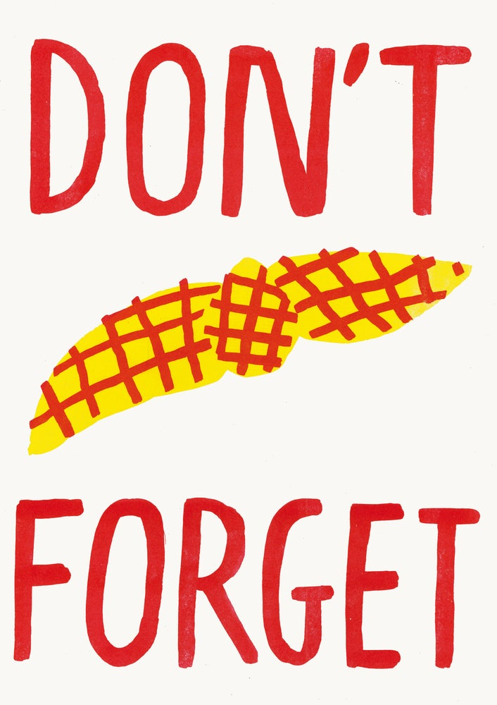 Image of Don't forget