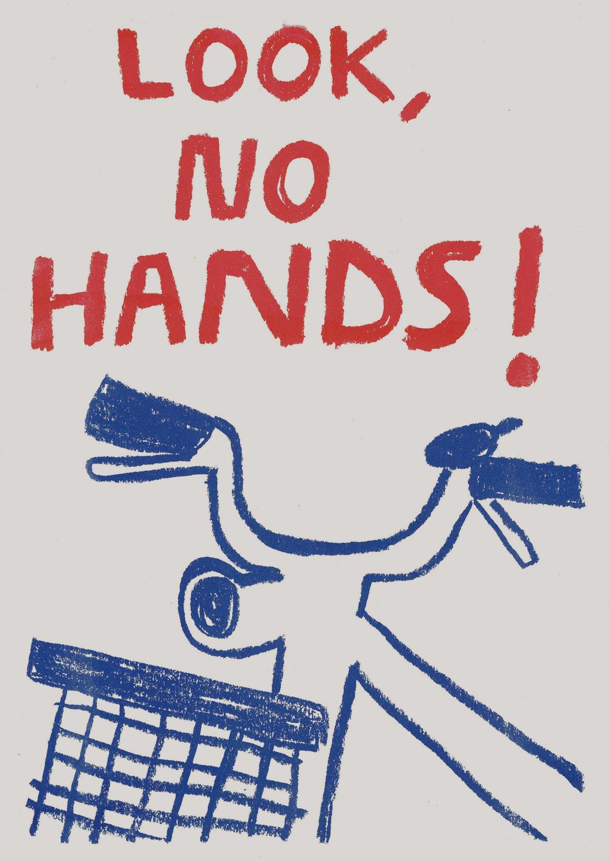 Image of Look, no hands!