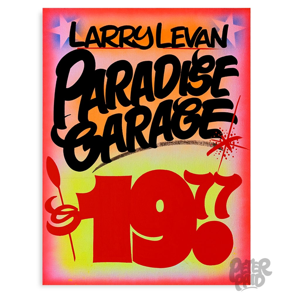 "Image of 18"" x 24"" - Paradise Garage"