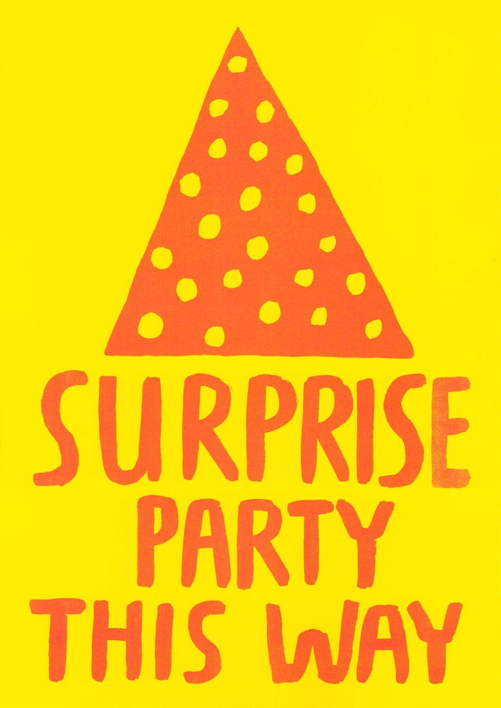 Image of Surprise party this way
