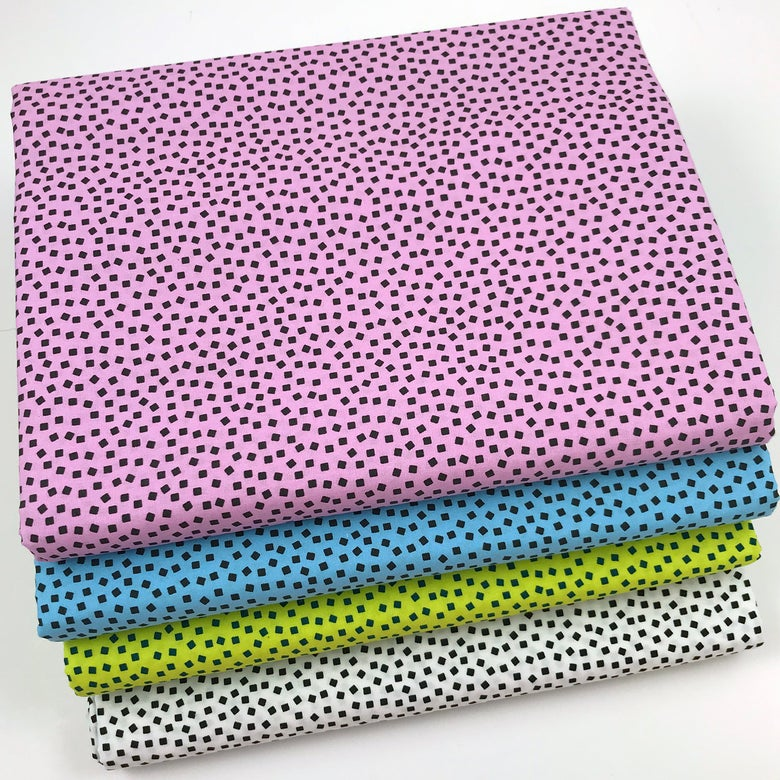 Image of Gridwork Square Dots By the Yard - Select Color
