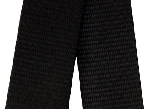 """Image of Nylon Webbing Strap - Adjustable - 1.5"""" Wide - Choose Color, Length & Gold or Nickel #16XLG Hooks"""