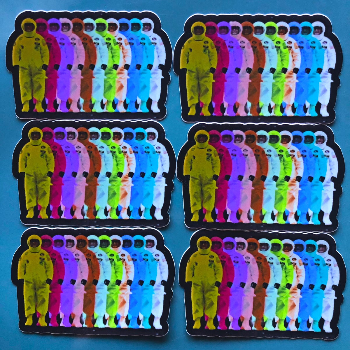 Image of Astronaut Rainbow Stickers 🌈👨‍🚀 (Ft. Ken Manning)
