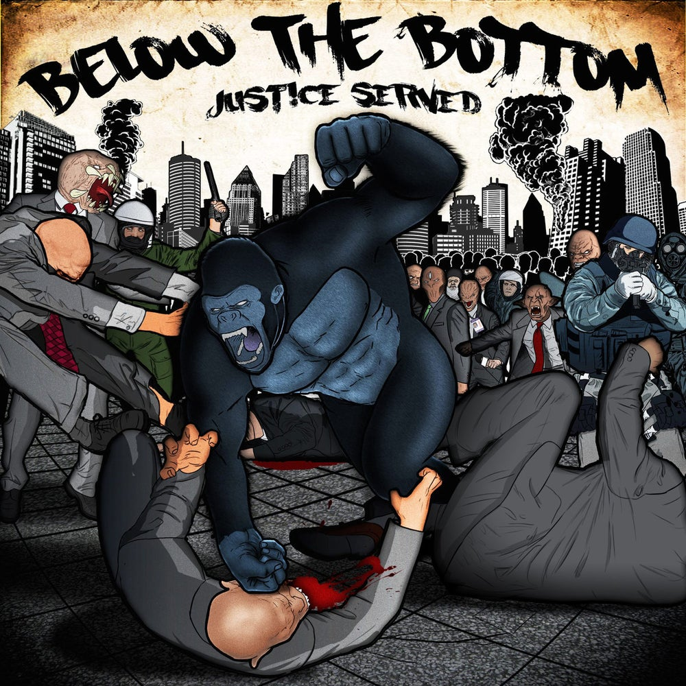 Image of Below The Bottom - Justice Served CD