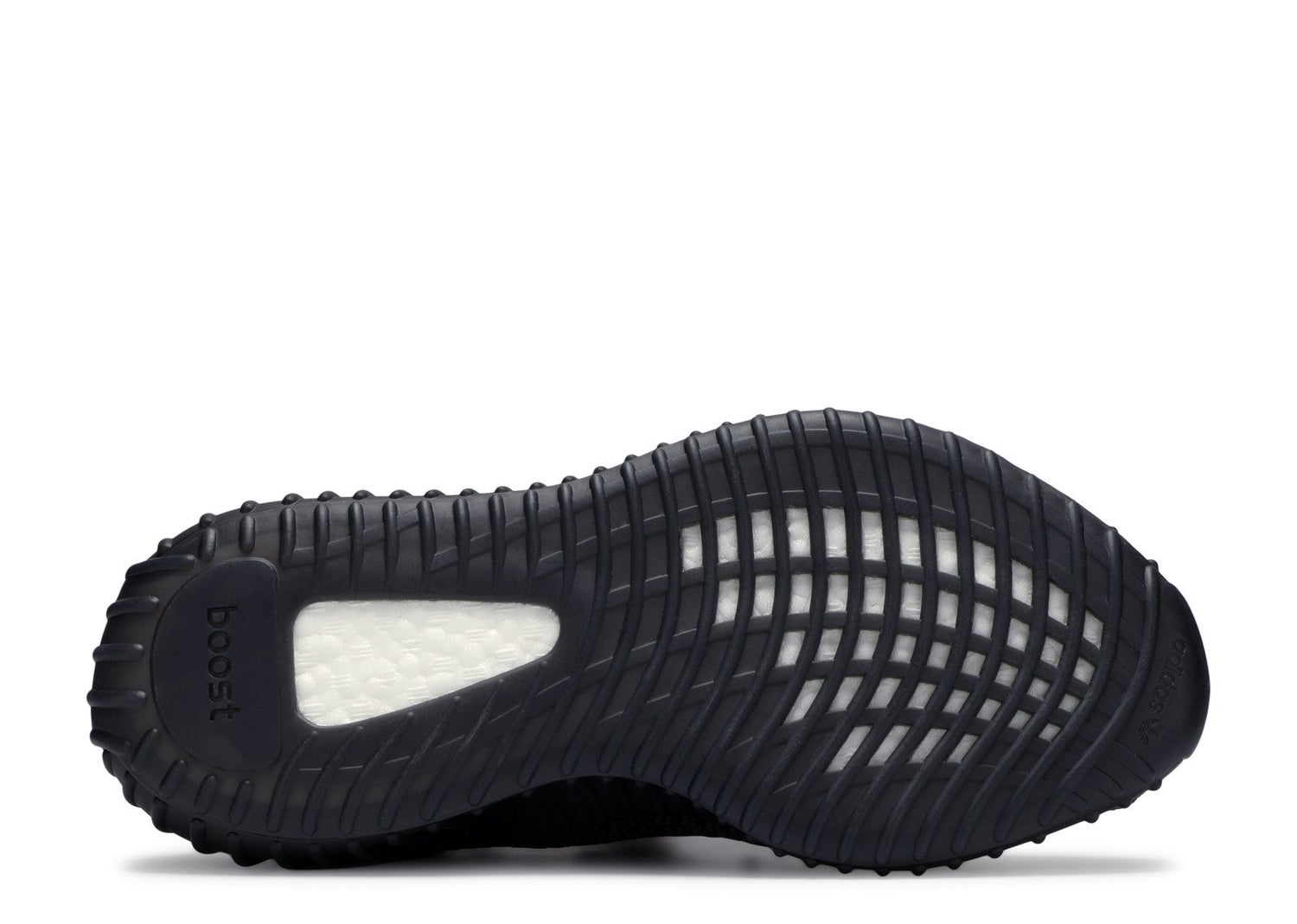 "Image of Adidas Yeezy Boost 350 ""Black (Non-Reflective) GS"