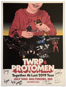 Image of TWRP + Protomen Tour Poster