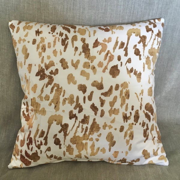 Image of Gold Dash Cushion Cover