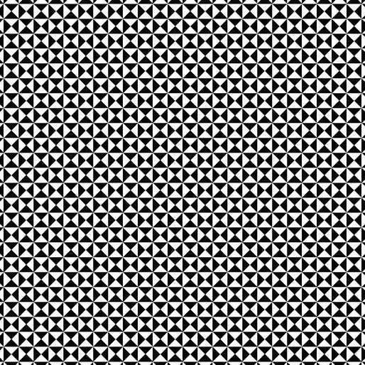 Gridwork Hourglass Neutrals By the Yard - Black & White
