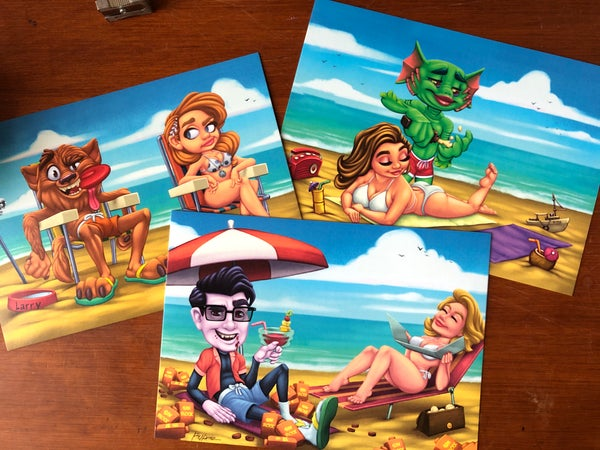 Image of Monster beach bash vol. 1 (prints)