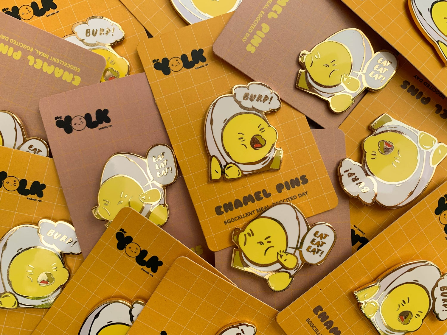 Image of Yolk【 Enamel Pins 】