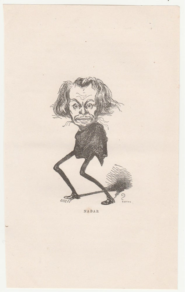 Image of Nadar: a caricature selfportrait. ca. 1860