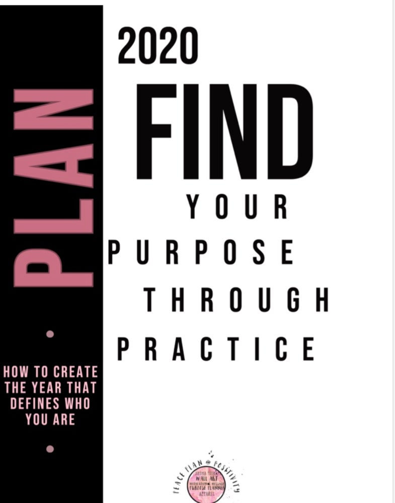 Image of Plan Your Purpose 2020 Digital Journal + Hardcopy Journal