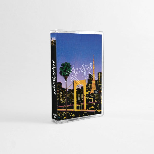 Image of '夜韻 Night Tempo' Cassette with 3D Cover Card