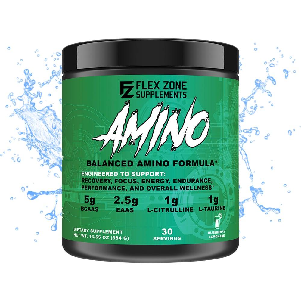 Image of [NEW!] AMINO, Blueberry Lemonade, 30 Servings