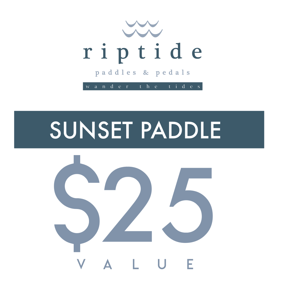 Image of SUNSET PADDLE GIFT CERTIFICATE