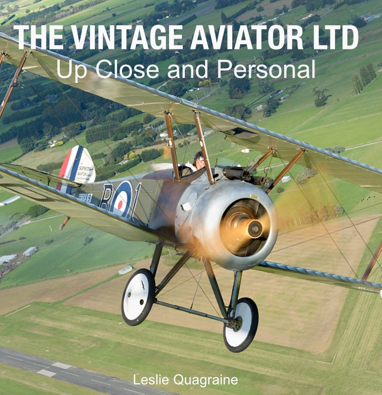 Image of THE VINTAGE AVIATOR LTD - Up Close and Personal
