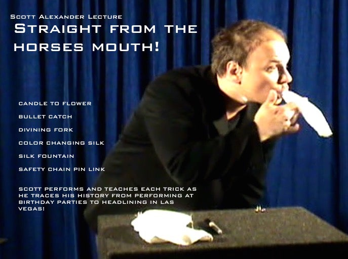 Image of Straight From the Horses Mouth - Lecture