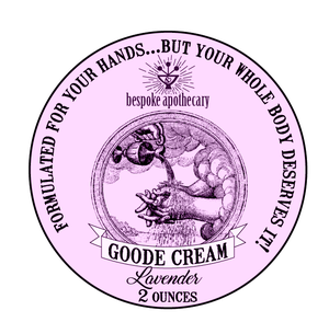 Image of *GOODE Cream - for deep moisturizing - *Unscented, *Thieves OR *Lavender!!