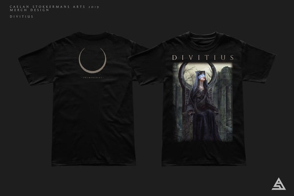Image of 'Primordial' T-shirt + CD Bundle