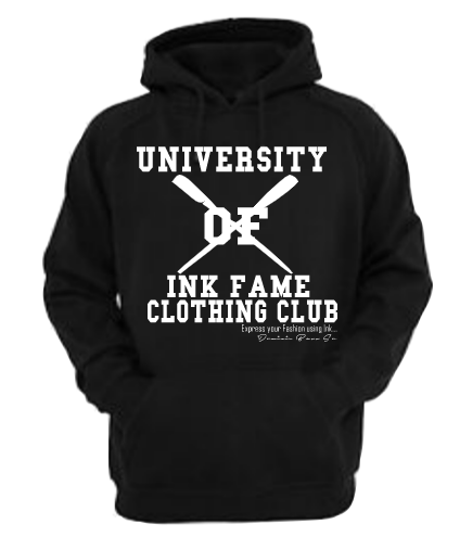 Image of University of Ink Fame Clothing Club Hoodie
