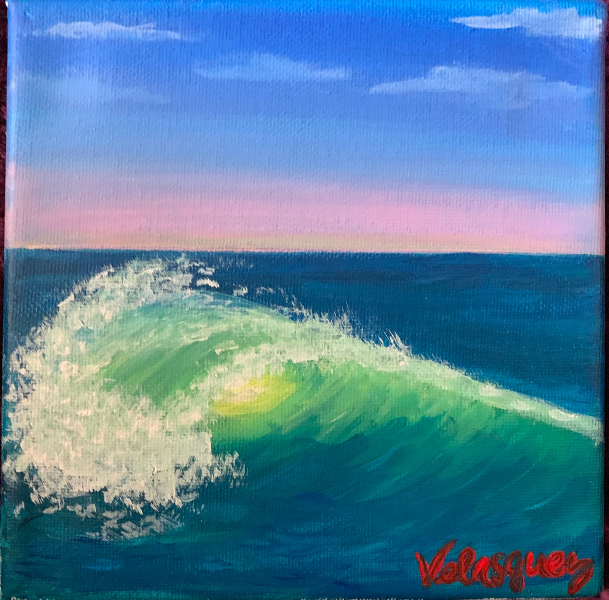 Image of Little ocean wave