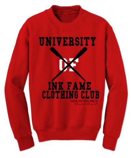 Image of University of Ink Fame Clothing Club Sweatshirt