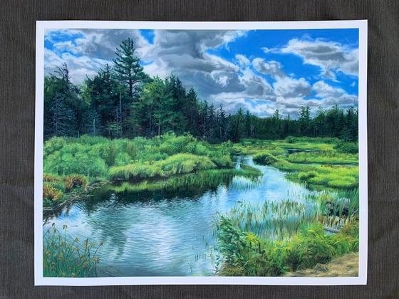 Image of Adirondack Giclee Print