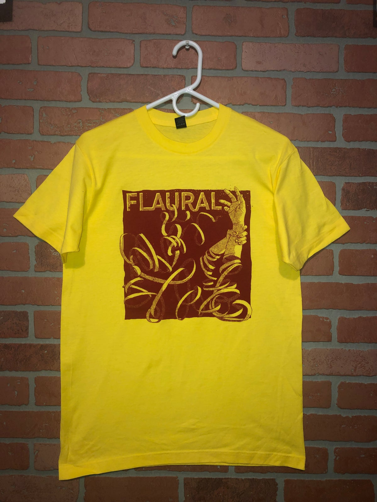 Image of Flaural Tee Shirt-Yellow