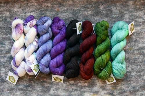 "Image of ""Sculsh"" Super BFL Sock - 438 yards"