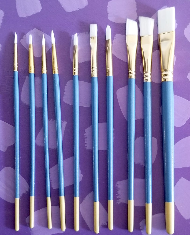 Image of Set of Brushes (10 Pack)