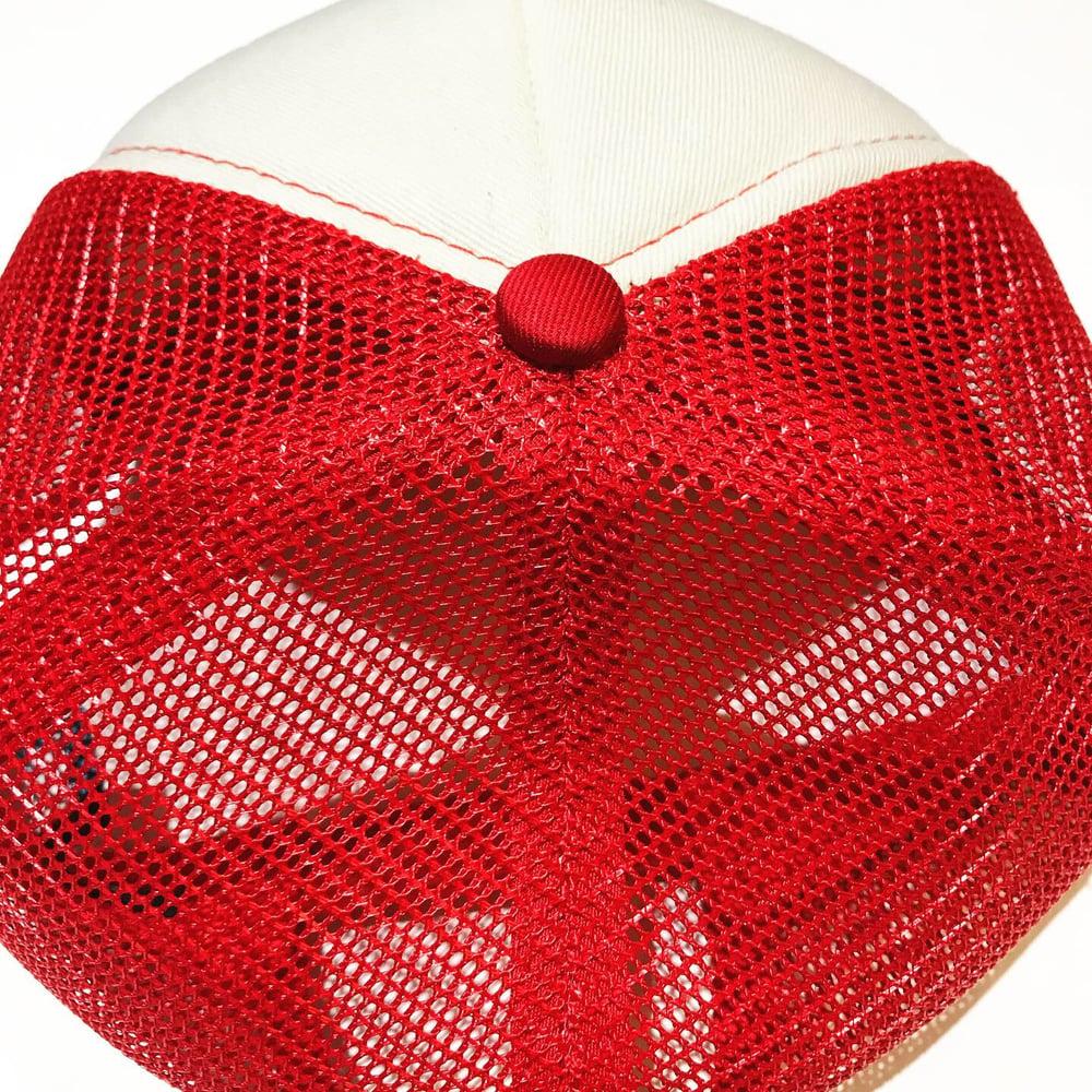Image of ADORNED PATCH LOGO MESH CAP