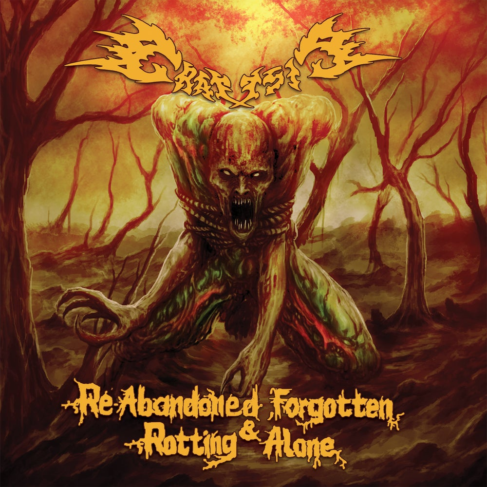 Image of GRAUSIG 'Re-Abandoned, Forgotten & Rotting Alone' CD