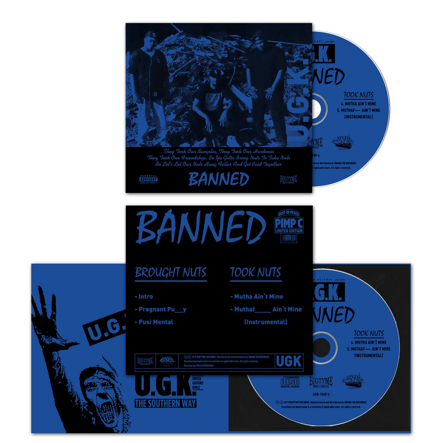 Image of U.G.K. Underground Kingz - Banned CD