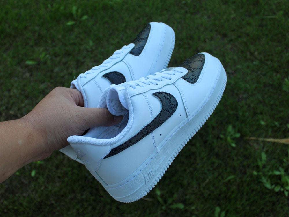 Image of Black GG Air Force 1